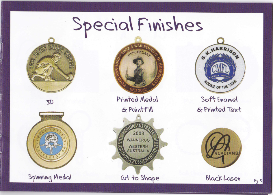 Custom Medals Pg 5 - Lincoln Trophies & Engraving